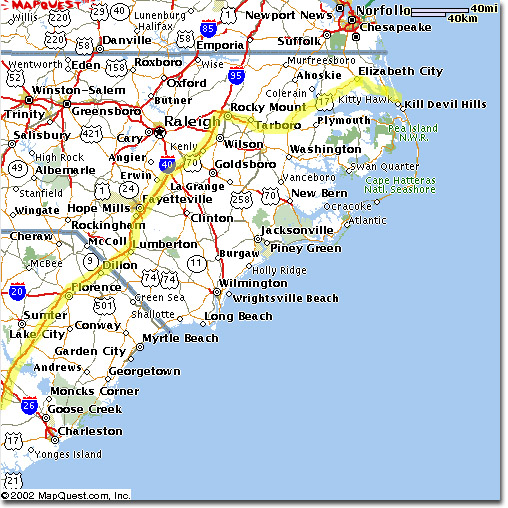 Map Of North Carolina Cities And Towns Picture. Ocean Isle ...